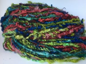 lockspun mohair yarn